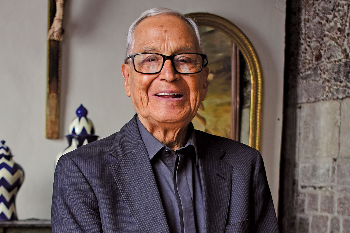 El padre Darío Bragado, sacerdote de la Arquidiócesis de México. Foto: Ricardo Sánchez