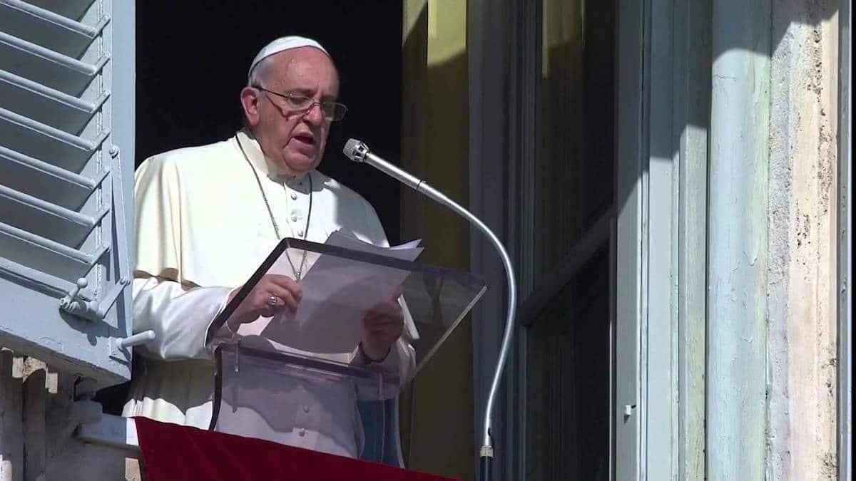 El Papa Francisco en el Ángelus