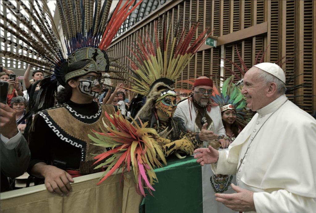 El Papa Francisco durante la Audiencia General. Foto: L'Osservatore Romano