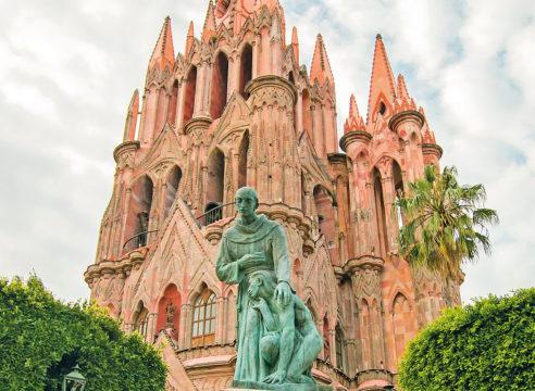 San Miguel Arcángel: la iglesia más famosa de San Miguel de Allende