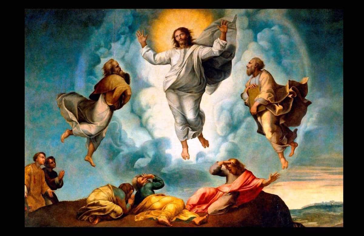 La Transfiguración del Señor.