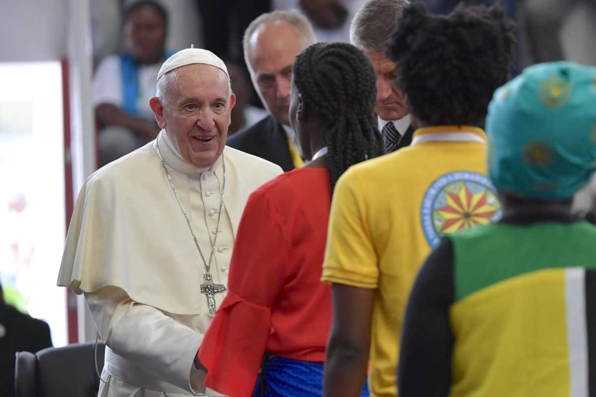 Encuentro Interreligioso del Papa Francisco con Jóvenes En Maputo, Mozambique. Foto: Vatican Media