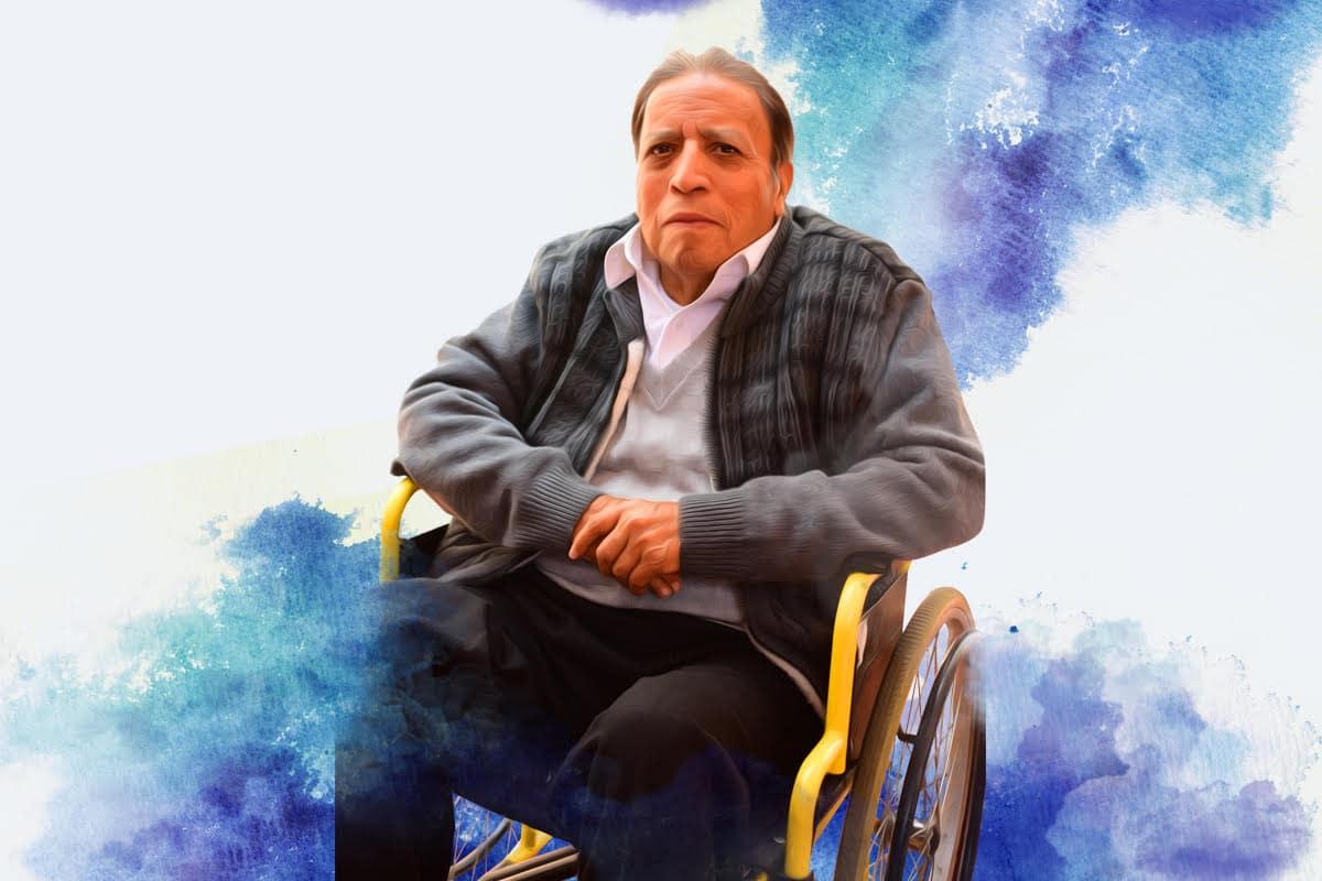 El sacerdote Francisco Bravo, 76 años.