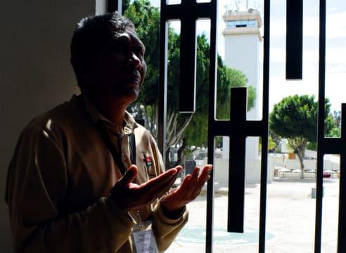 Francisco descubrió el sentido de su vida en prisión