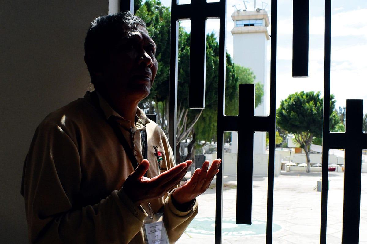 A Francisco Guadalupe José Trinidad le restan 14 años de prisión. Foto: Ricardo Sánchez.