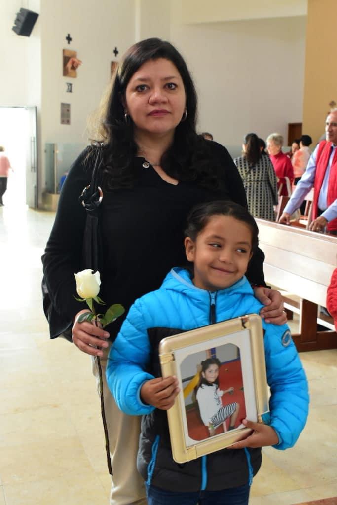 La señora Ana Lilia Gutiérrez, mamá de Amelia, una de las niñas que perdió la vida en el sismo del 19S. Foto: Ricardo Sánchez