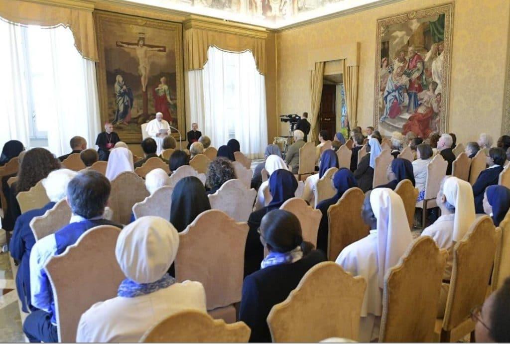 Talitha Kum en audiencia general. Foto Vatican Media