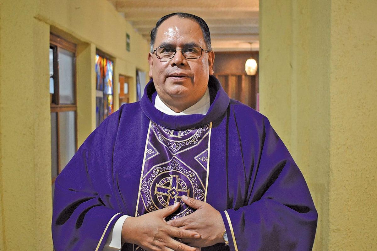 El padre Arturo Barranco tiene amplia experiencia en Misiones y Pastoral. Foto: Ricardo Sánchez