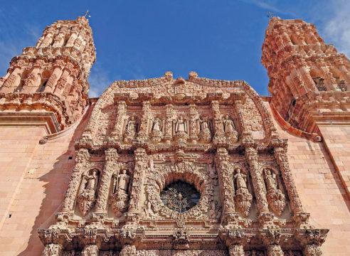 La Catedral basílica de Zacatecas, una herencia bañada de plata
