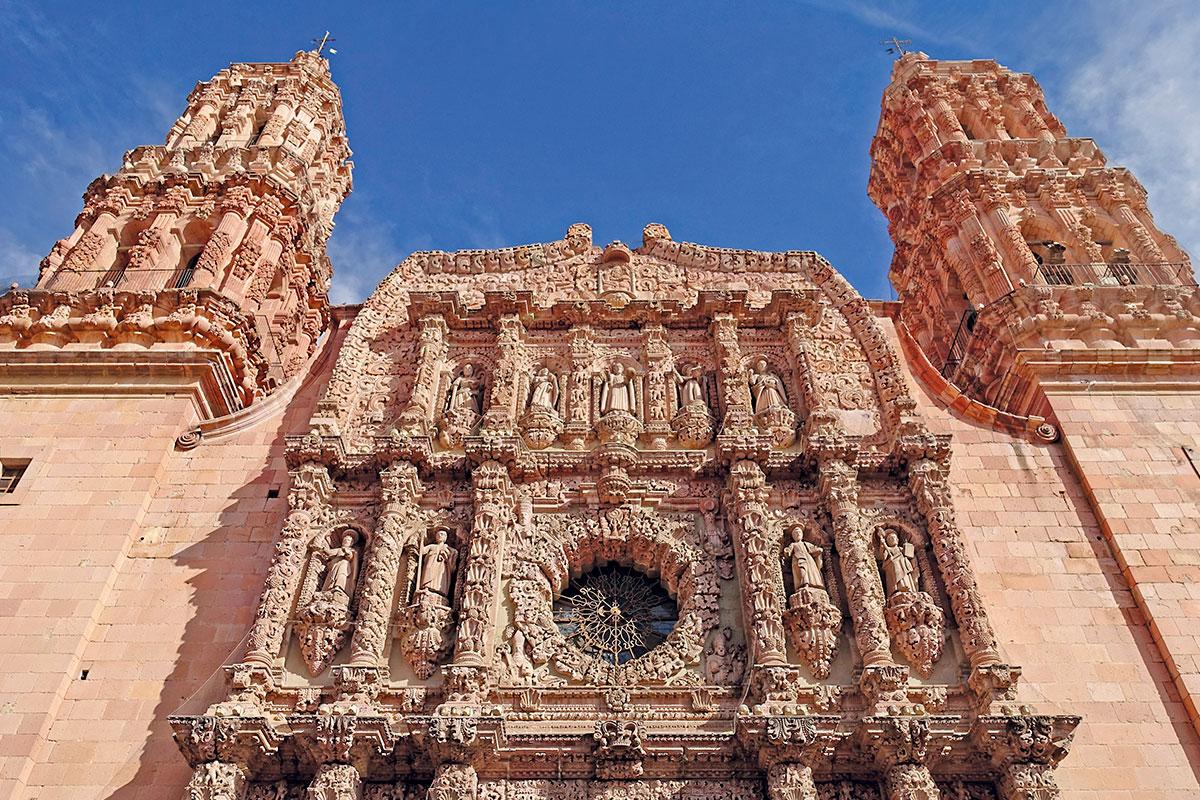 Catedral basílica, el orgullo de Zacatecas