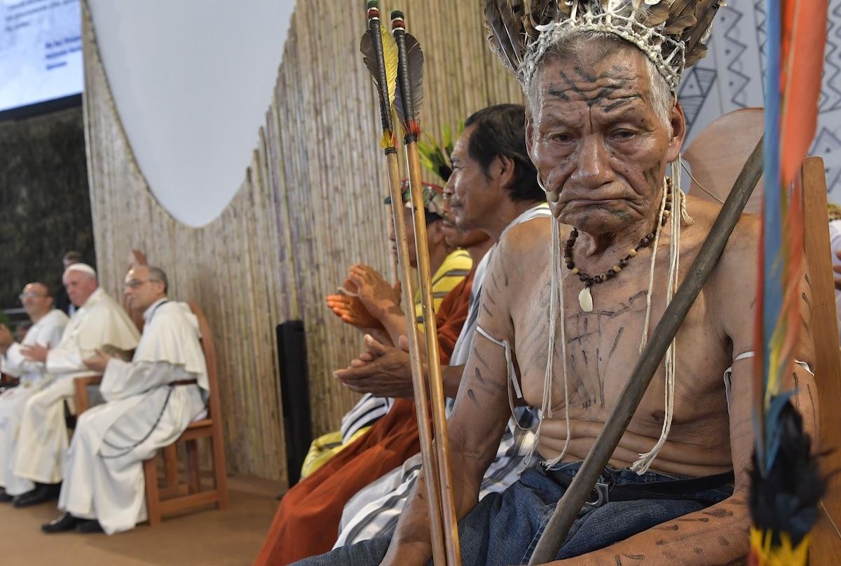 Viaje Apostólico del Papa Francisco a la Amazonia. Foto: L'Osservatore Romano. 19-01-2018