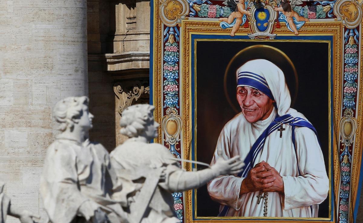 Canonización de la Madre Teresa de Calcuta el 4 de septiembre de 2016. Foto: Reuters