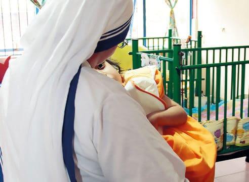 Misioneras de la Caridad: sin poseer riquezas, son muy felices