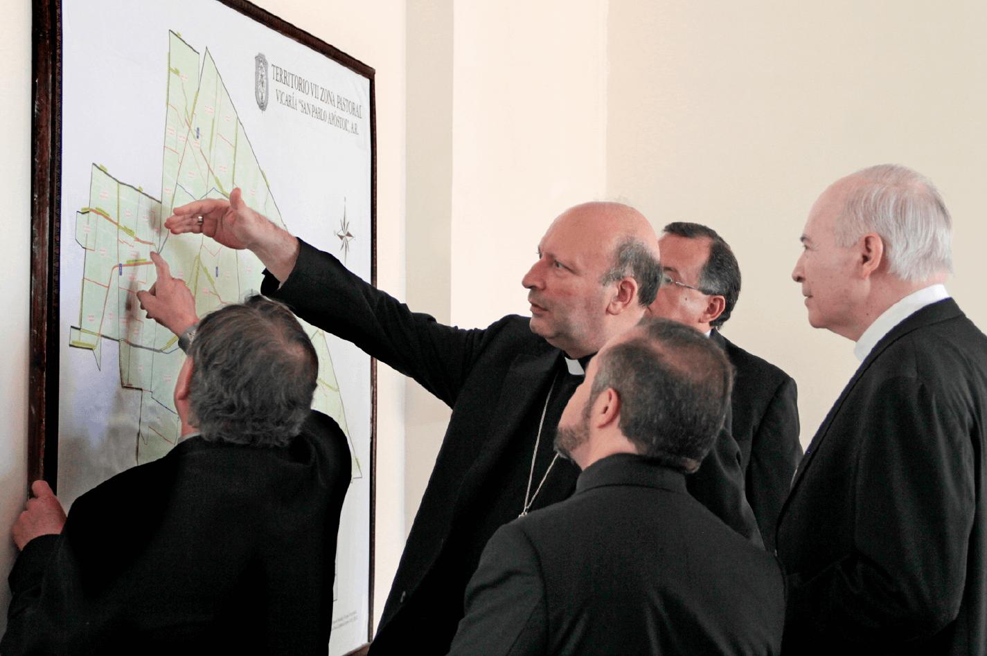 El proyecto de la creación de tres nuevas diócesis fue presentado en noviembre de 2018.