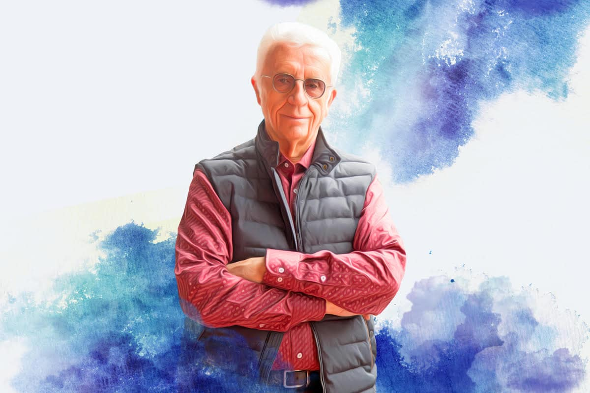 El sacerdote Jesús Arriaga, 76 años.
