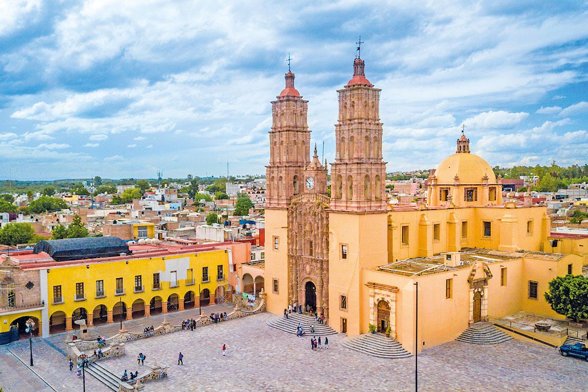En la Parroquia de Dolores, en Guanajuato, se dio el Grito de Independencia.