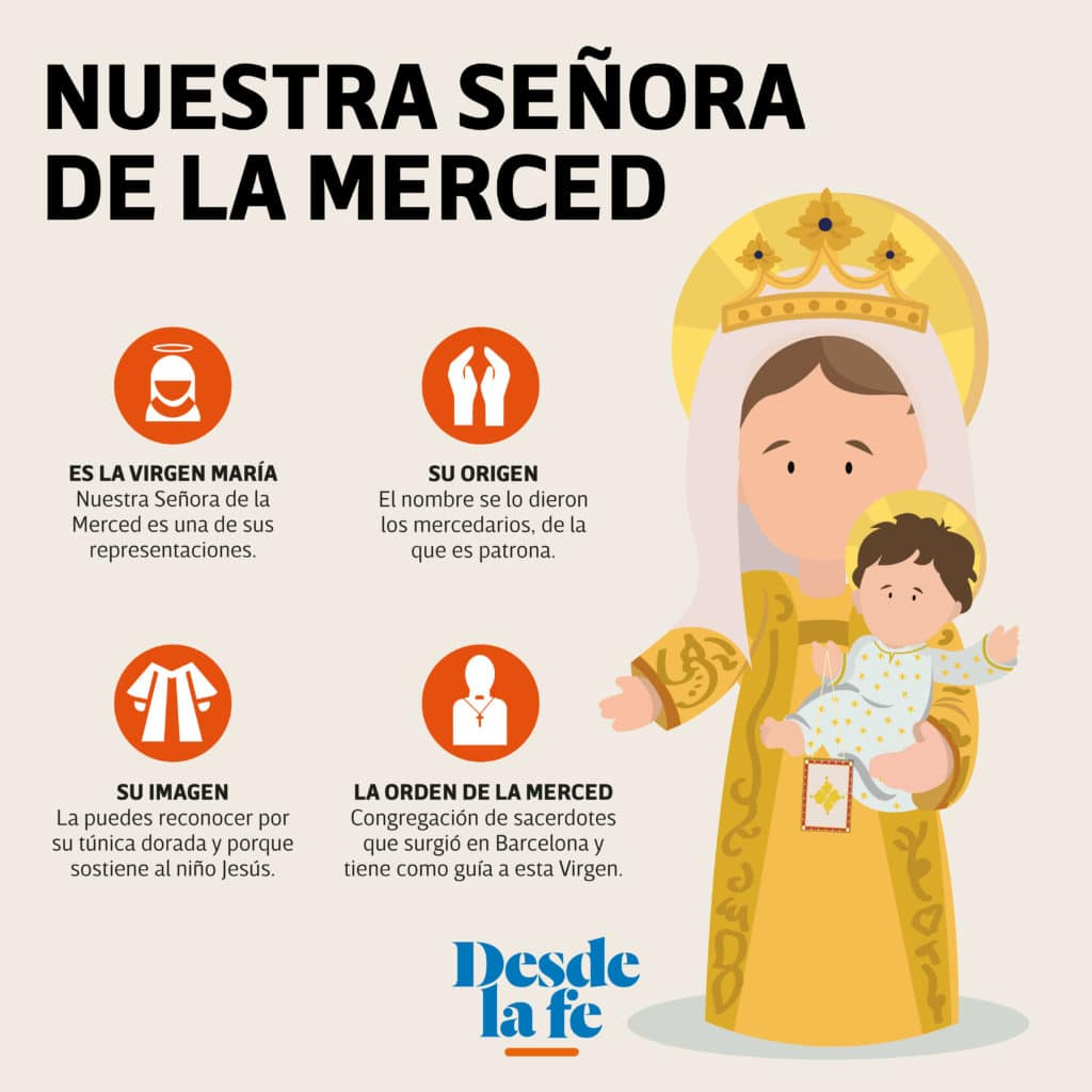 La Virgen de la Merced.