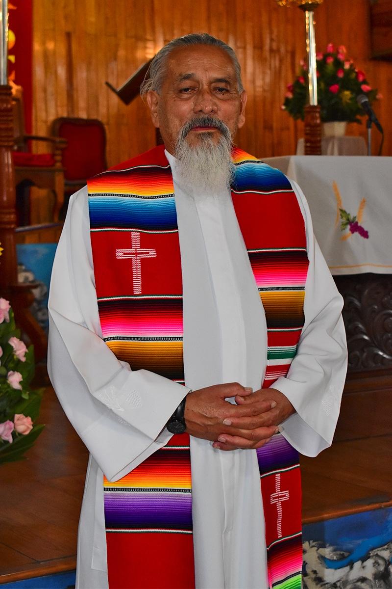 El sacerdote José Luis Téllez García