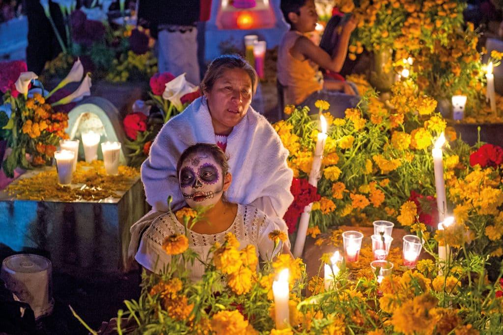 El 2 de noviembre es la noche de la Alumbrada. Foto Especial