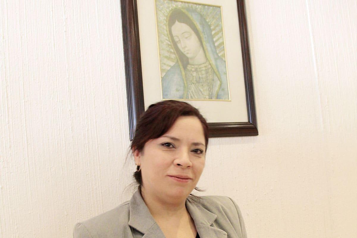 Esther Esparza la catequista enamorada de Laudato si. Foto Alejandro García