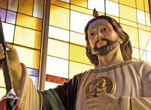 San Judas Tadeo reconquista a los fieles de Coapa