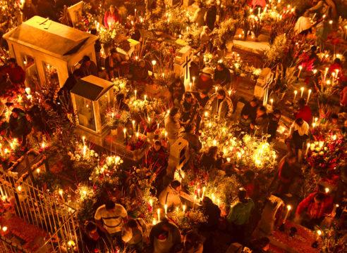 Mixquic, el lugar donde 'conviven' vivos y muertos