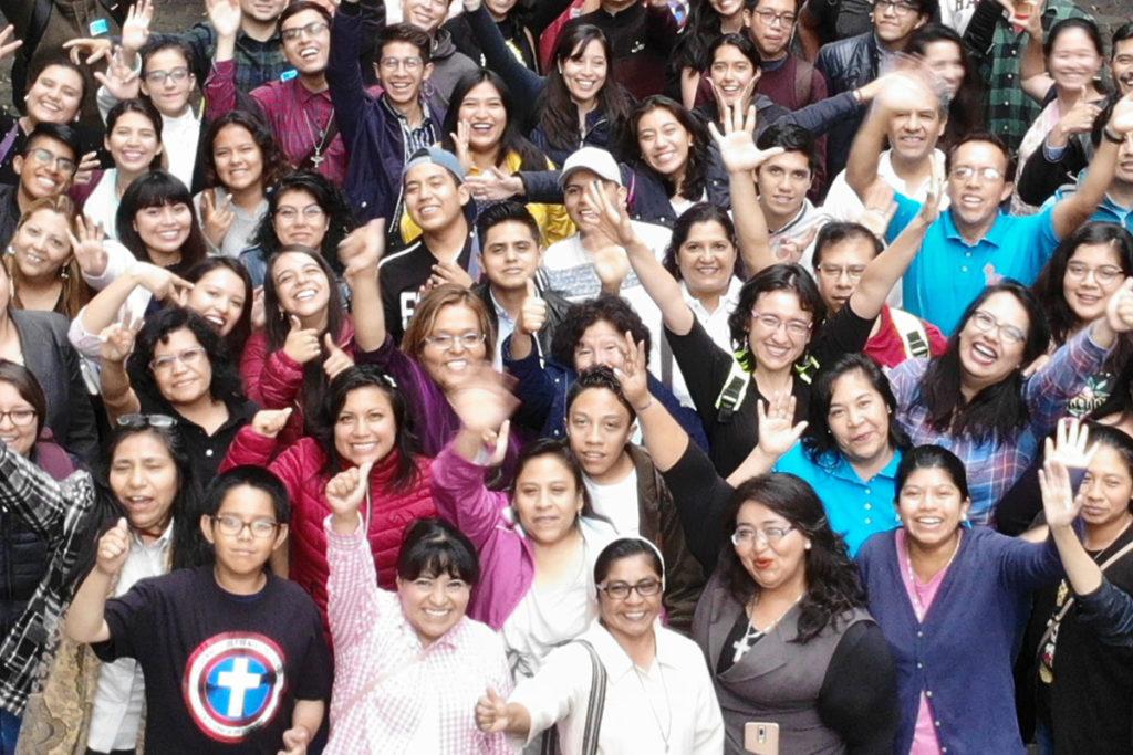 Algunos de los participantes de la Megamisión 2019. Foto: Ricardo Sánchez/DLF