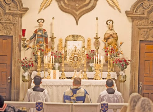 Esta es la única iglesia de la CDMX con Misas en latín