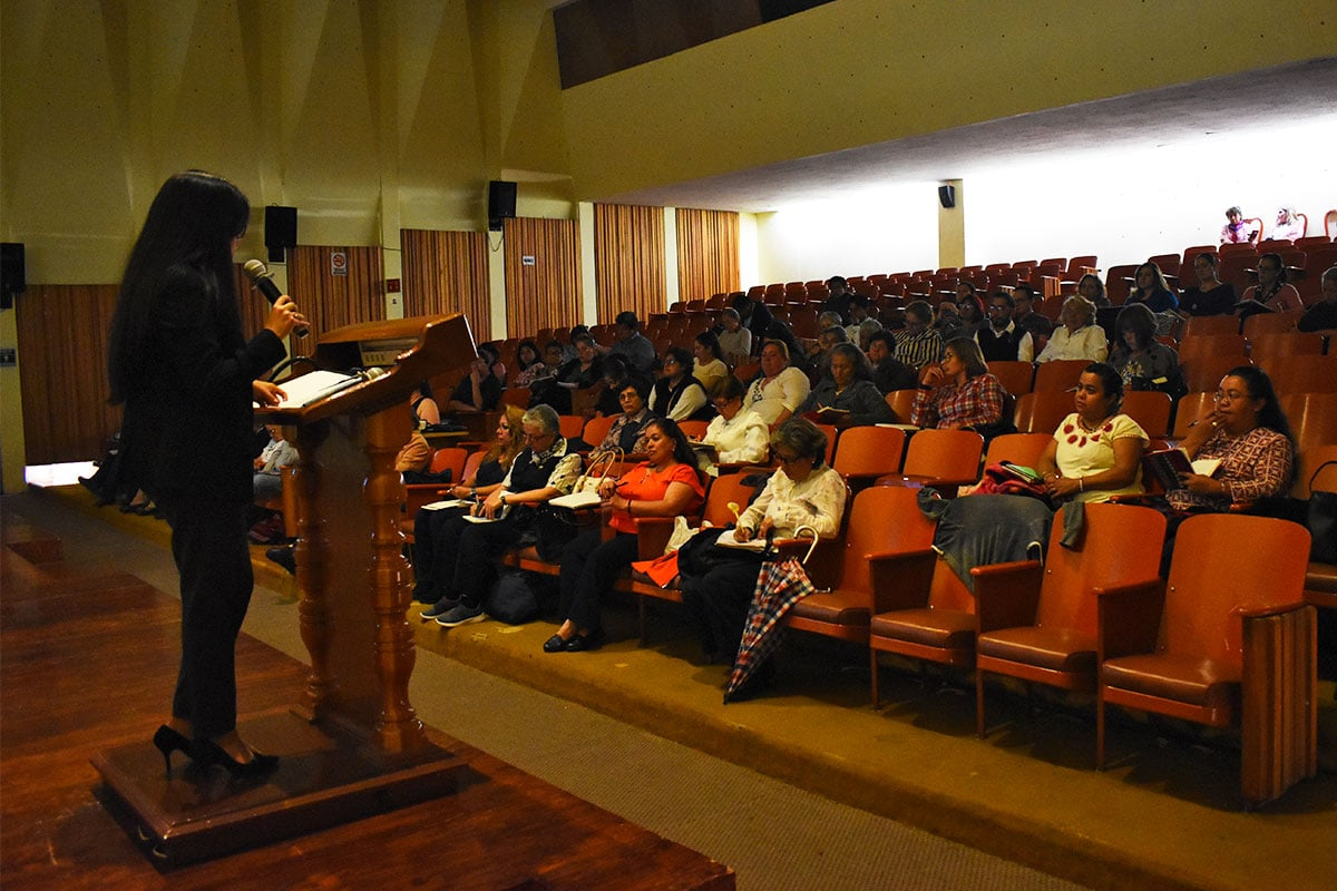 Curso de Protección al menor. Foto Ricardo Sánchez