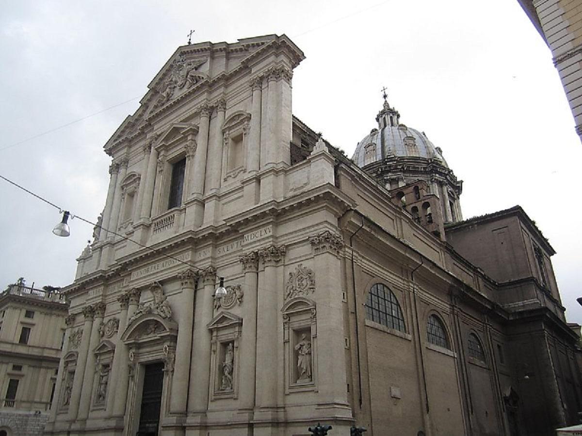 La Basílica de Sant'Andrea della Valle en Roma. Foto: María Langarica