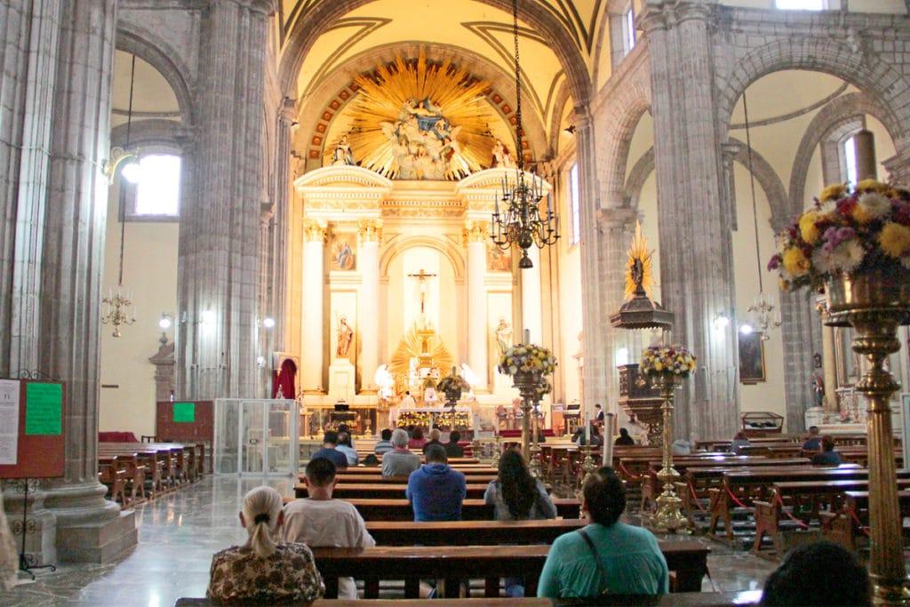 Misa en el Sagrario Metropolitano. Foto: Alejandro García