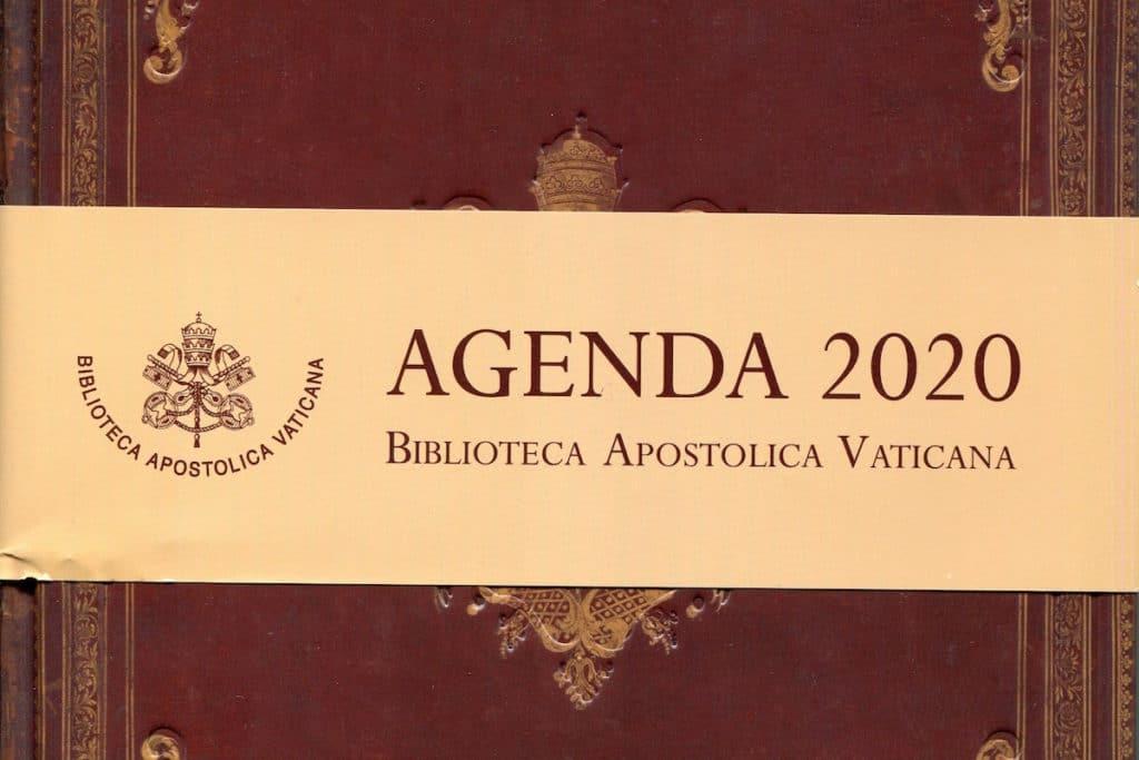 Agenda Vaticana 2020. Foto: L'Osservatore Romano