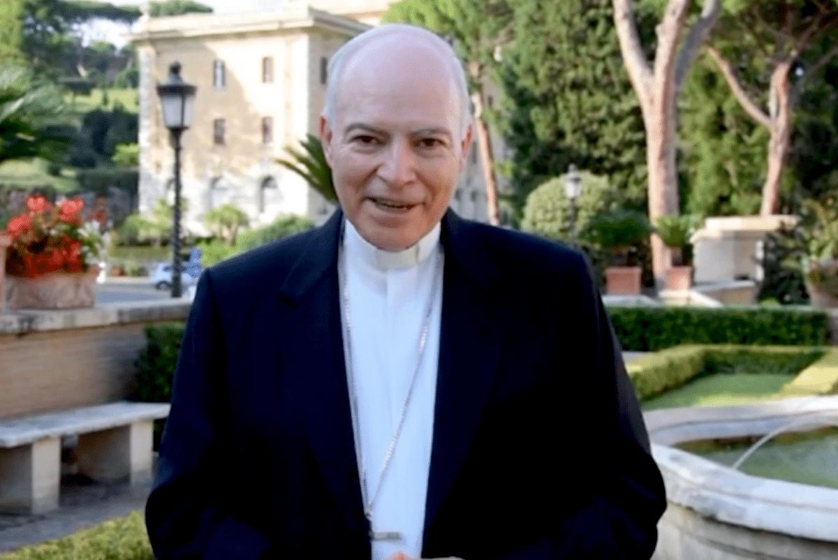 El Cardenal Carlos Aguiar Retes.