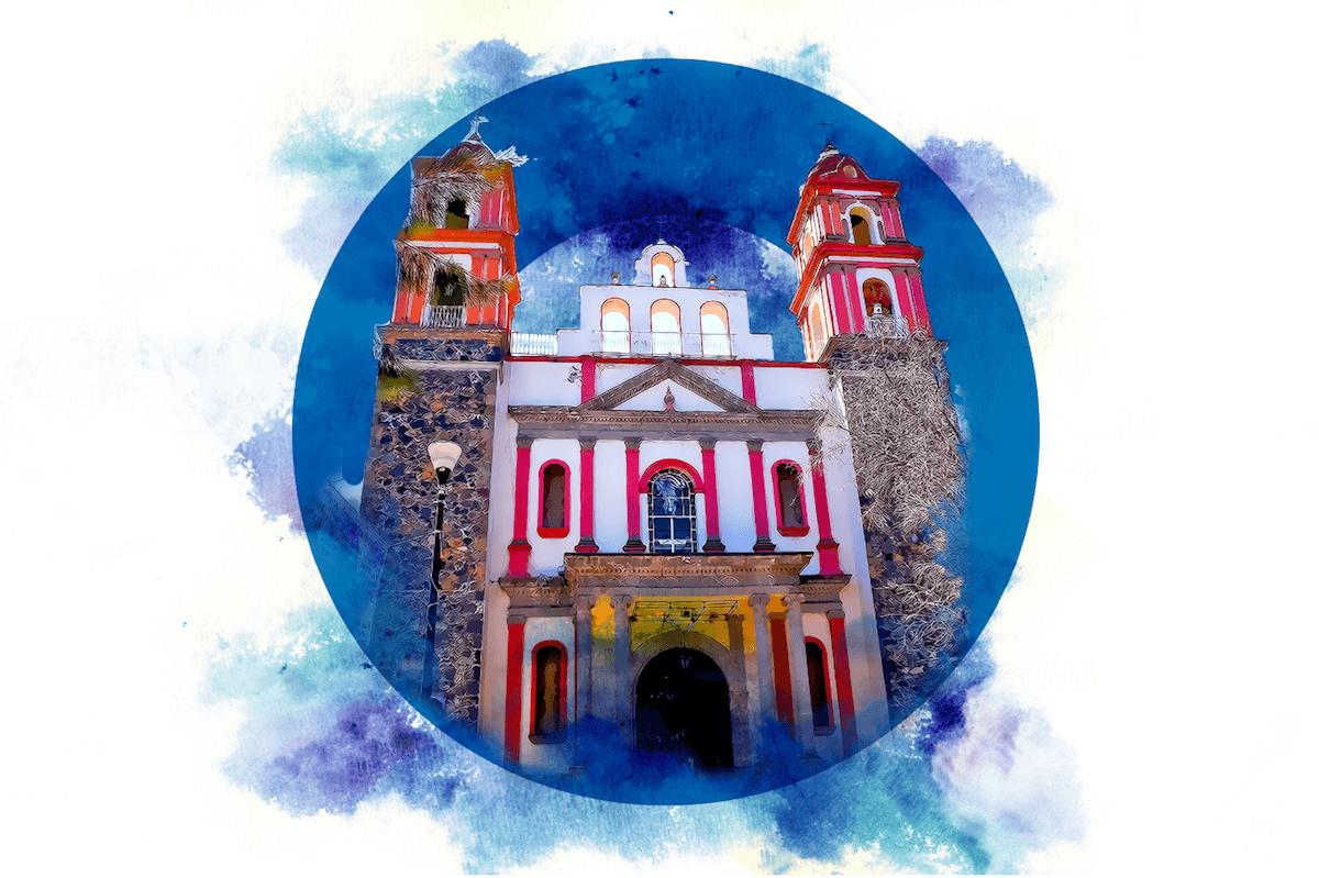 El Santuario del Santo Sepulcro es la Catedral de Iztapalapa.