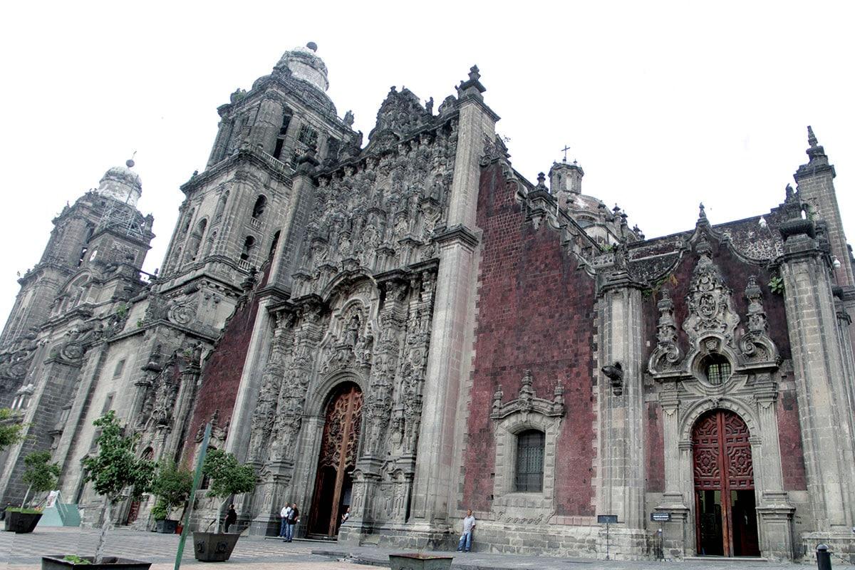 Fachada del Sagrario Metropolitano en el Centro Histórico. Foto: Alejandro García
