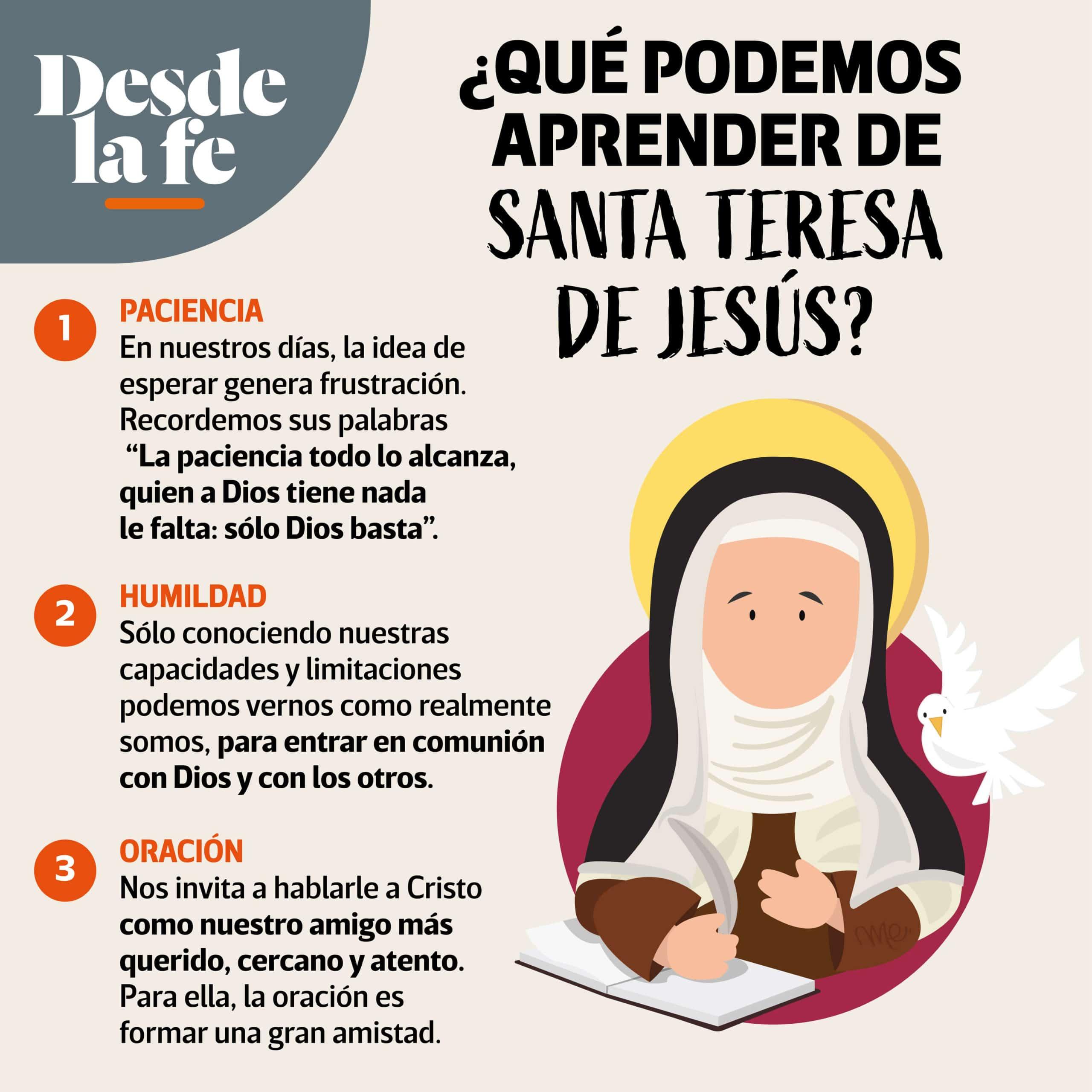 Consejos de Santa Teresa de Ávila.