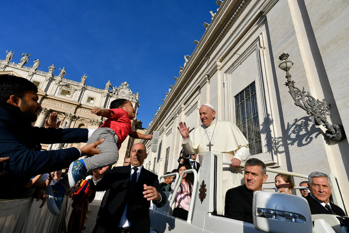 El Papa Francisco en Audiencia General. Foto: Vatican Media