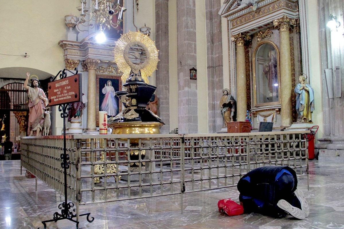 Interior del Sagrario Metropolitano. Foto: Alejandro García
