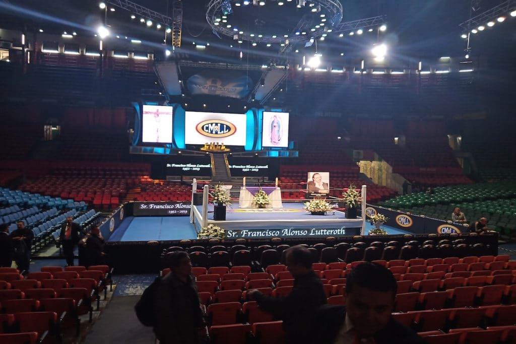 Arena México. Foto: Cortesía Arena México