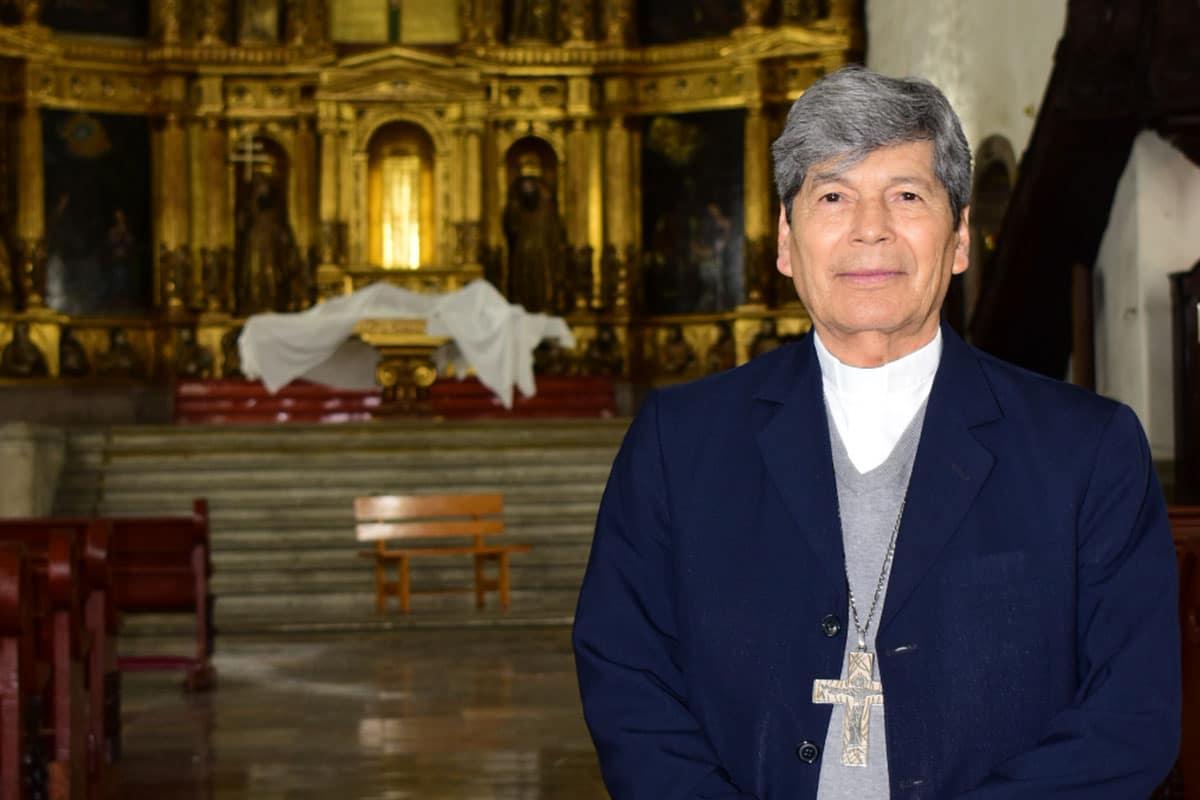 Monseñor Andrés Vargas Peña, primer obispo de la Diócesis de Xochimilco. Foto: Ricardo Sánchez