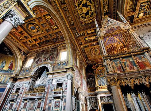 La primera Basílica del catolicismo está en Roma