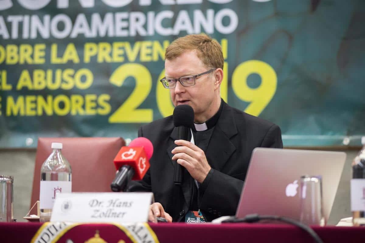 Hans Zollner, experto en prevención y lucha contra el abuso sexual infantil. Foto: María Langarica