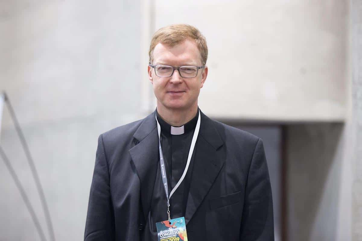 Padre Hans Zollner, experto en prevención y lucha contra el abuso sexual infantil. Foto: María Langarica
