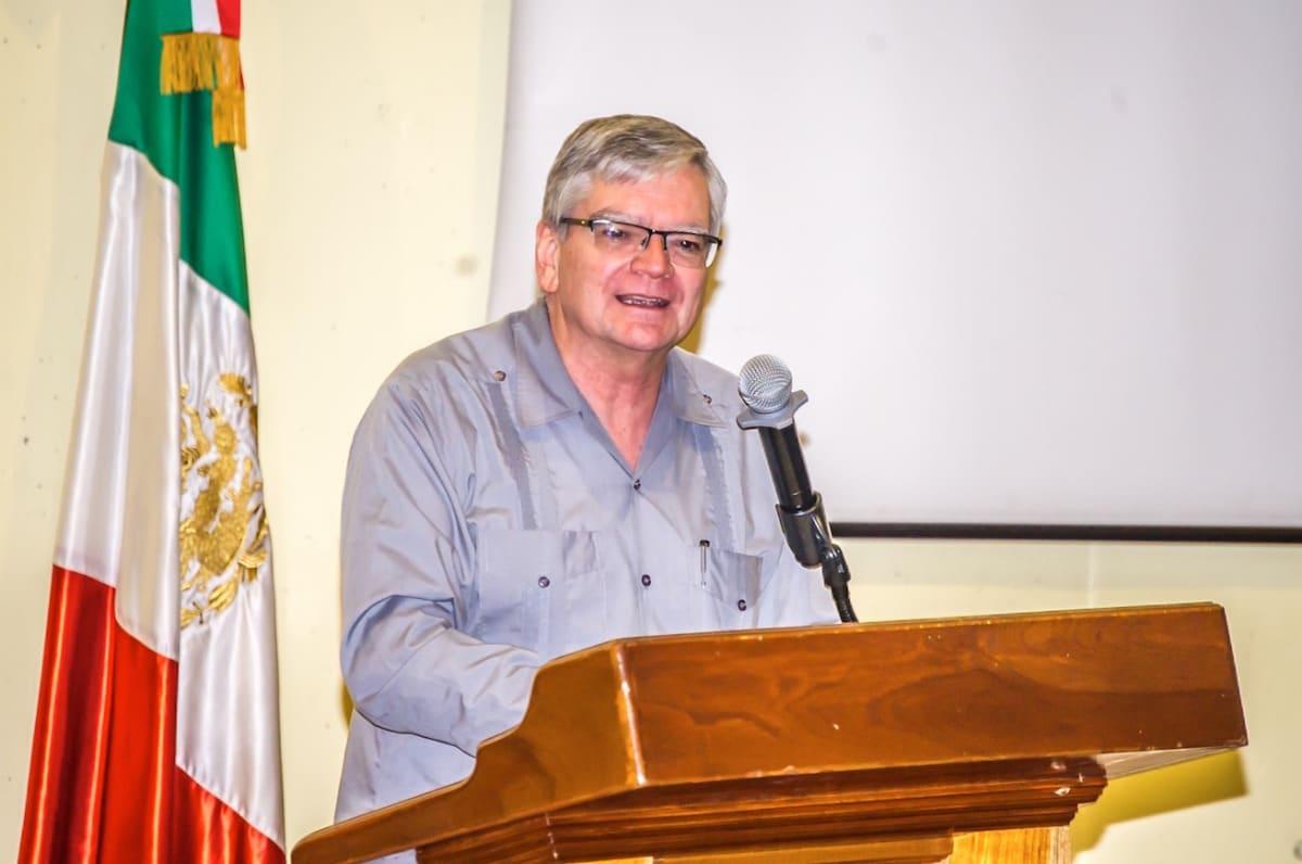 El Dr. Jorge Traslosheros. Foto: Alberto González