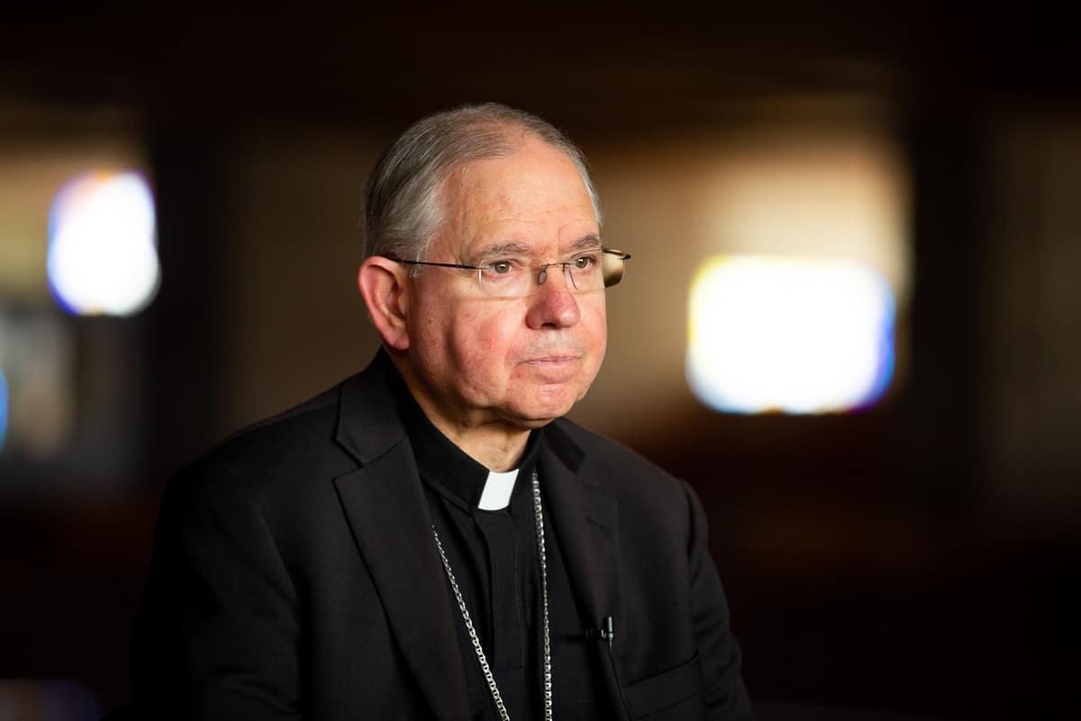 Monseñor José H. Gómez, Arzobispo de Los Angeles. Foto: María Langarica