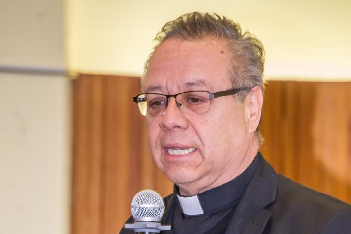 El padre Eduardo Chávez, director del Instituto Superior de Estudios Guadalupanos. Foto: Alberto González