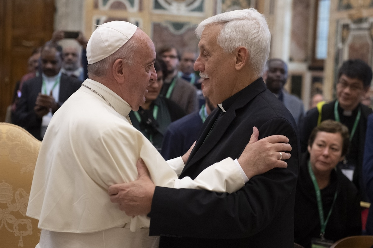 Audiencia del Papa al Secretariado para la Justicia Social y la Ecología de la Compañía de Jesús. Foto: L'Osservatore Romano