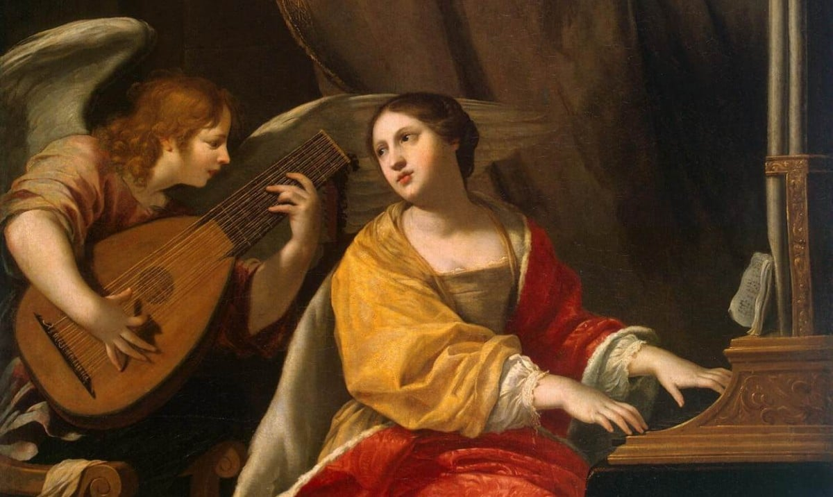 Santa Cecilia, patrona de los músicos.