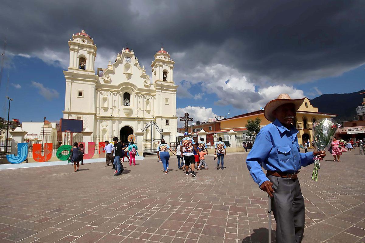 Santuario de la Virgen de Juquila, Oaxaca.