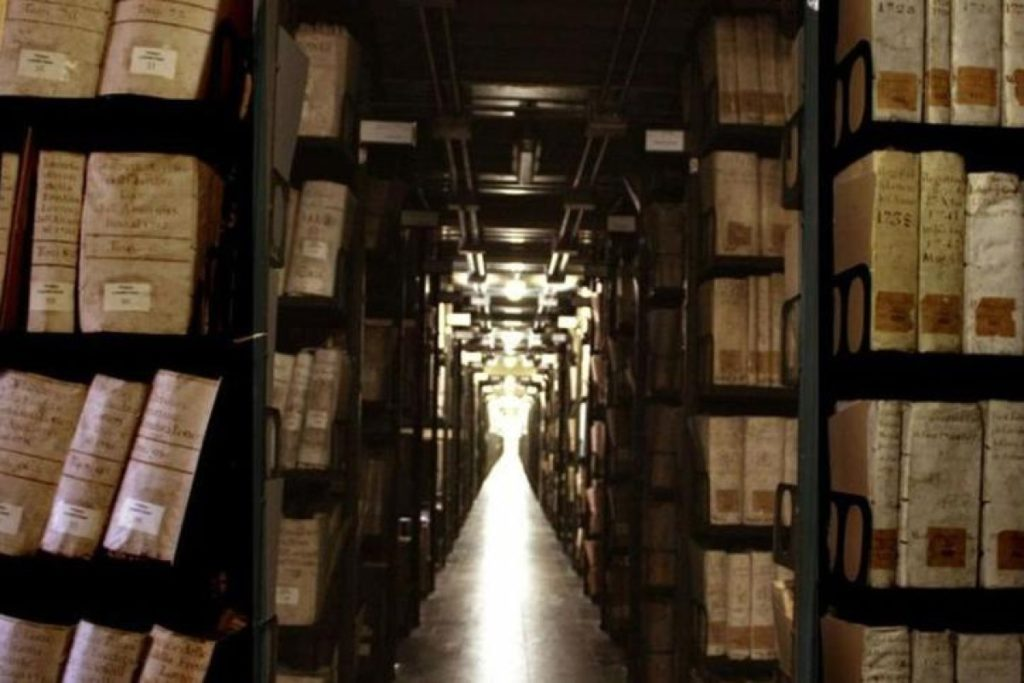 Archivo Apostólico Vaticano. Foto Vatican Media